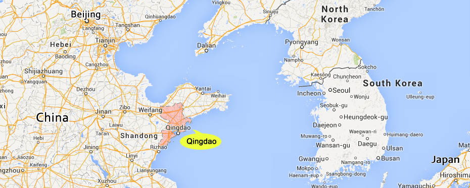 Qingdao is a port city in eastern China, facing South Korea and Japan across the sea.